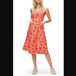 Free People Sunshine of Your Love Parrot Orange